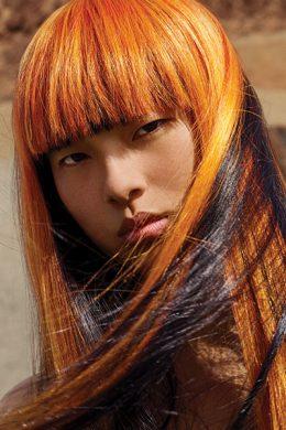 Beauté – Dame aux cheveux colorés: la marque Shiseido a lancé Waso, une gamme de produits ciblés pour les Millennials et pour tous ceux qui se moquent de ces limitations d'âge