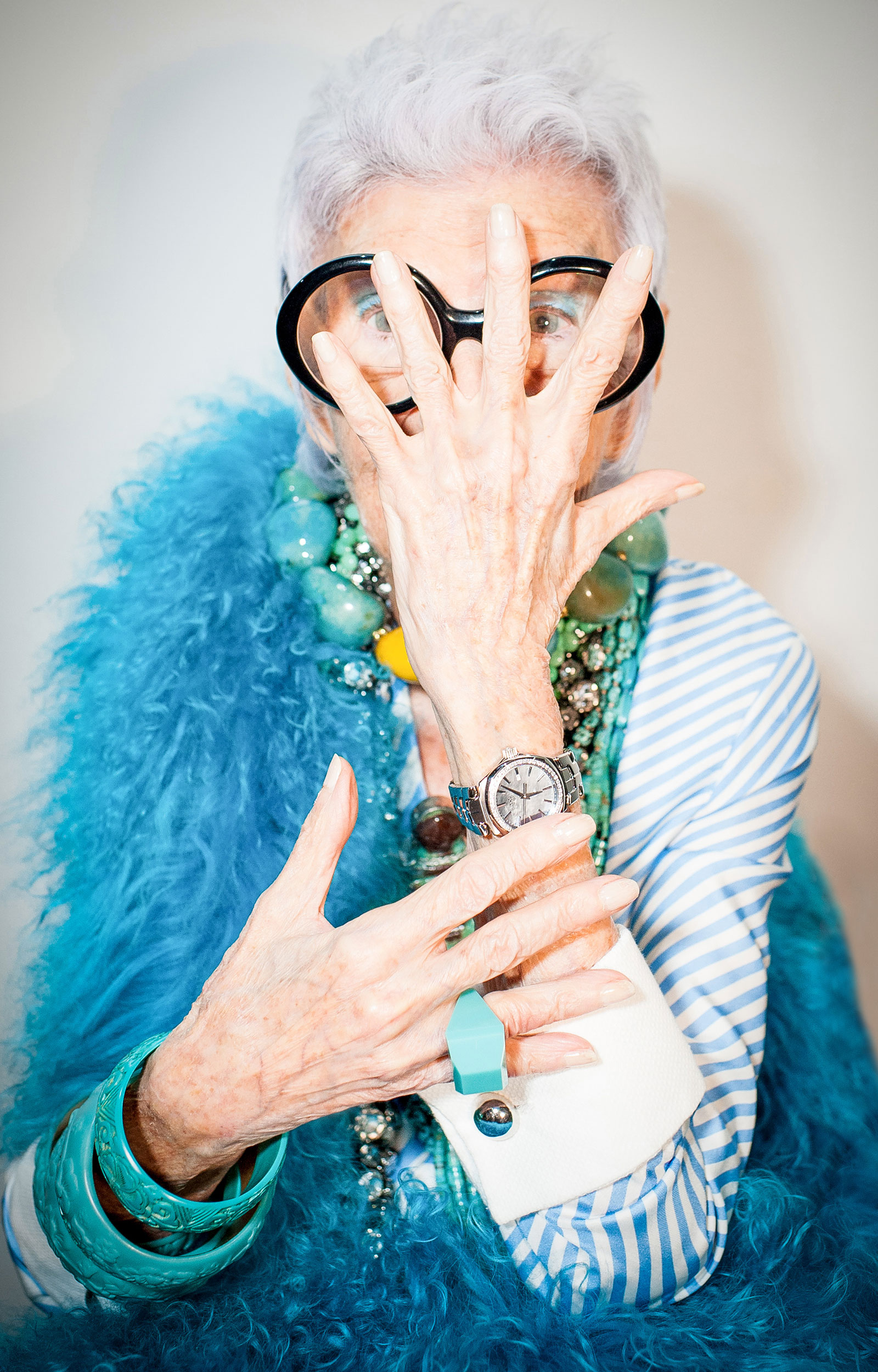 Iris Apfel. Photo: © Tag Heuer