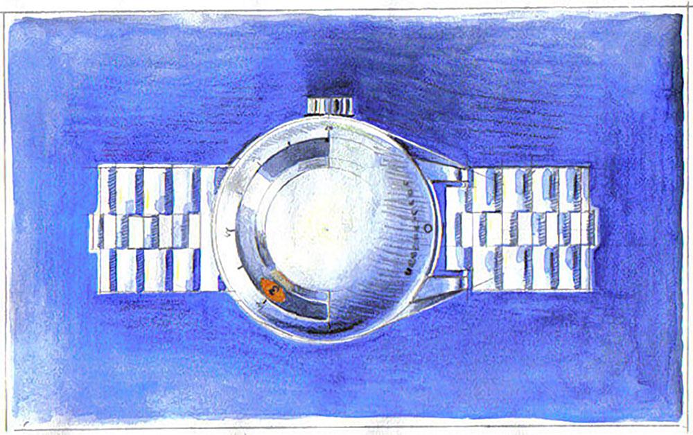 Le dessin de la Ur 101 par Martin Frei.