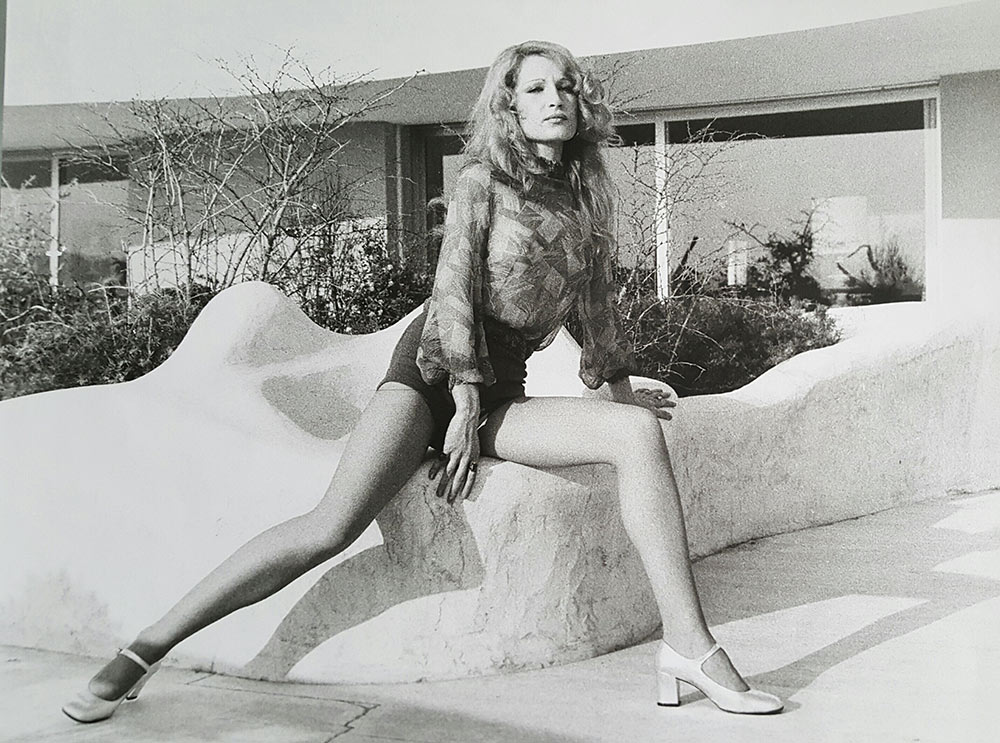 Tanya Drouginska, mannequin dans les années 1970