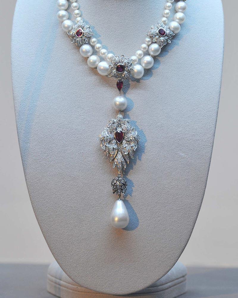 BIJOUTERIE –La perle Peregrina: découverte dans le Golfe de Panama par un esclave en 1579 cette perle pourrait être un sujet de roman. Photo: © DR.