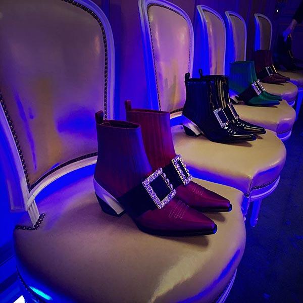 FASHION - Roger Vivier's shoes.