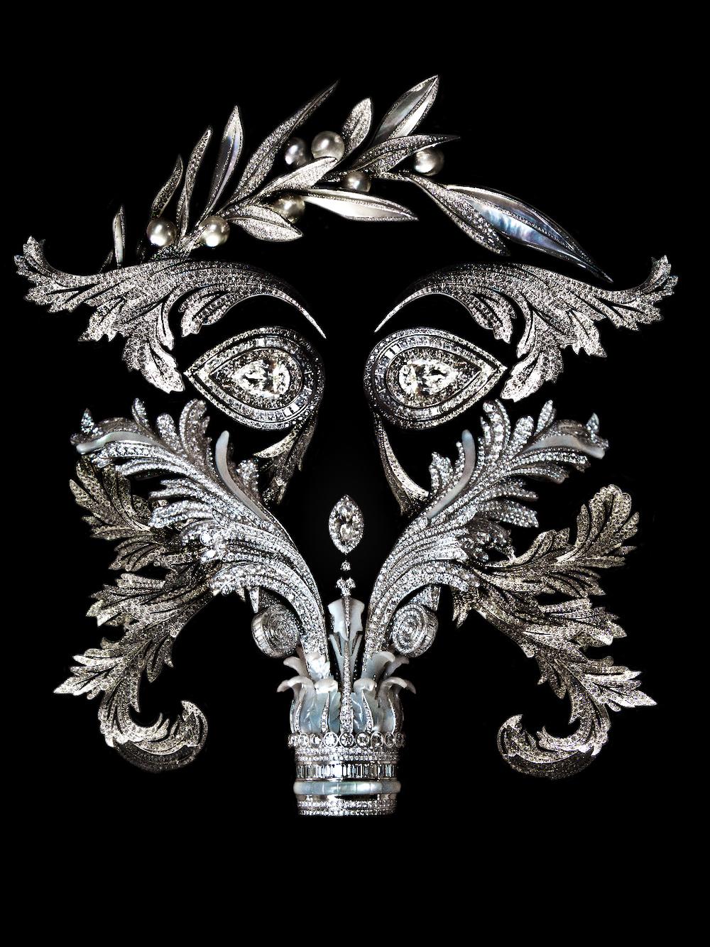 Under the precious masks
