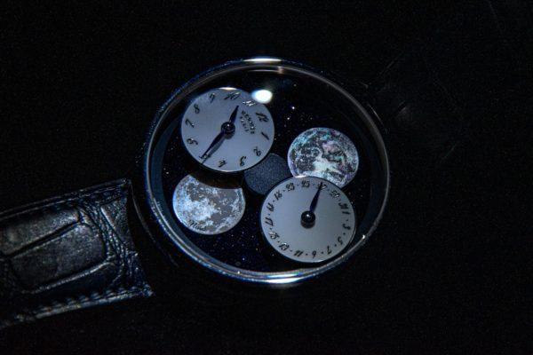 Arceau, L'Heure de la lune, Hermès Horloger. Photos et réalisation : ©Buonomo & Cometti