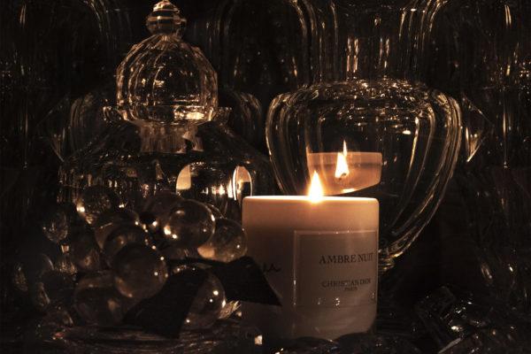 Bougie Ambre Nuit Christian Dior, ©Buonomo & Cometti