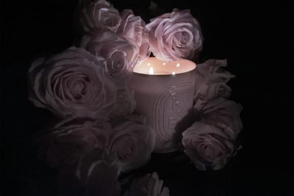 Bougie Roses Diptyque ©Buonomo & Cometti