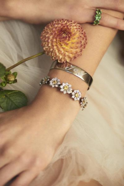 Name Tag Bracelet, Margaret ©Damian Foxe