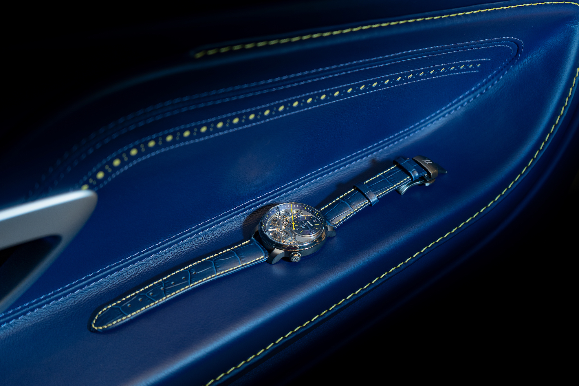 When a watch gives birth to an Aston Martin