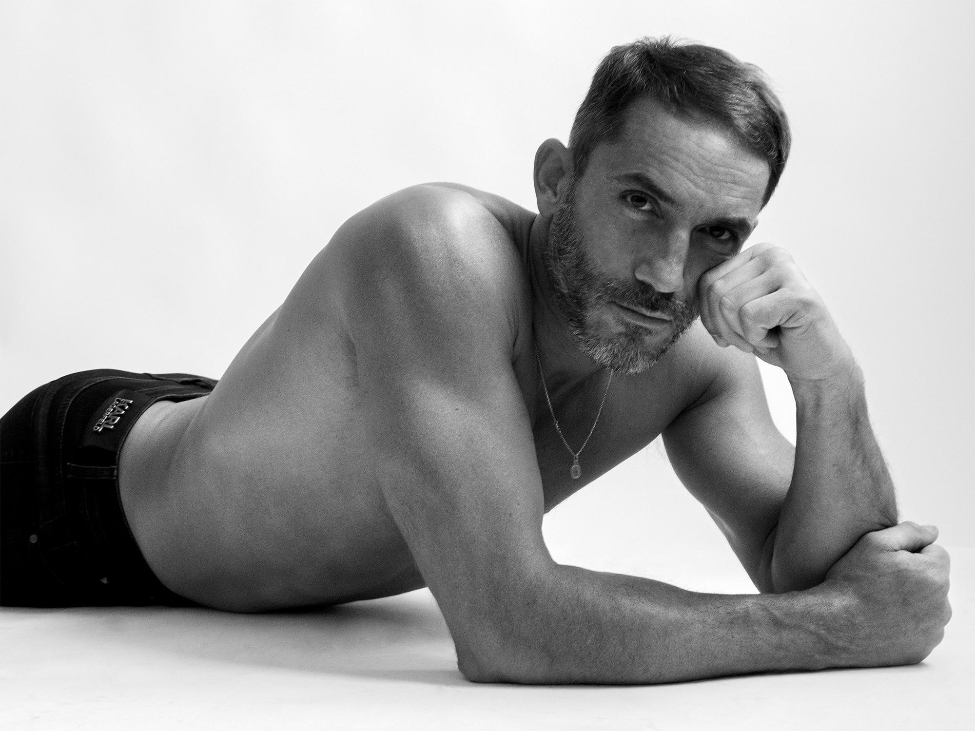 Sébastien Jondeau, jeans Karl Lagerfeld, ©Buonomo & Cometti