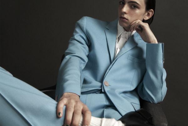 Justin @imgmodels @justinmanniez in Fendi Homme ©Buonomo & Cometti