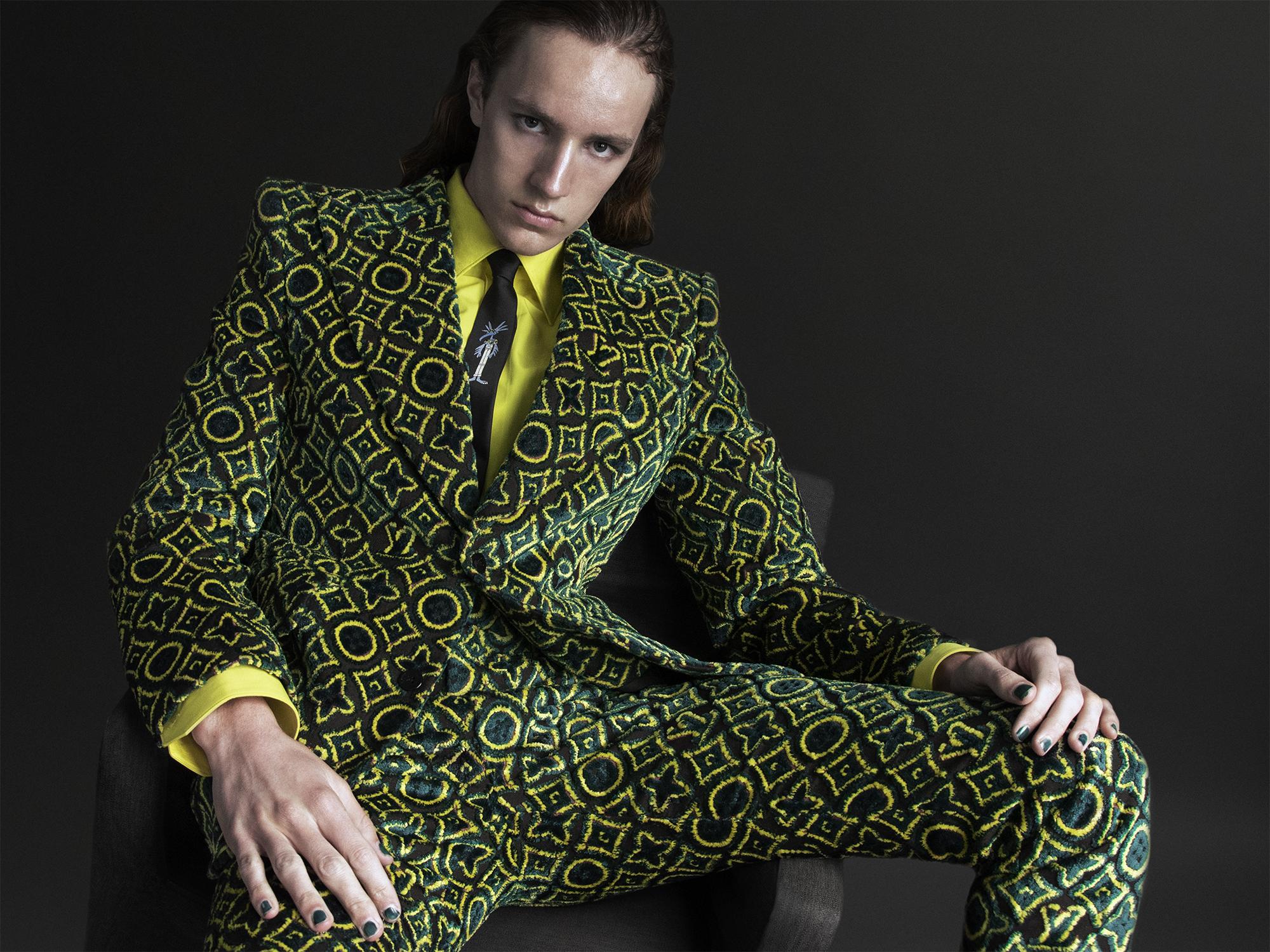 Cian @imgmodels @ciancm in Louis Vuitton Homme ©Buonomo & Cometti