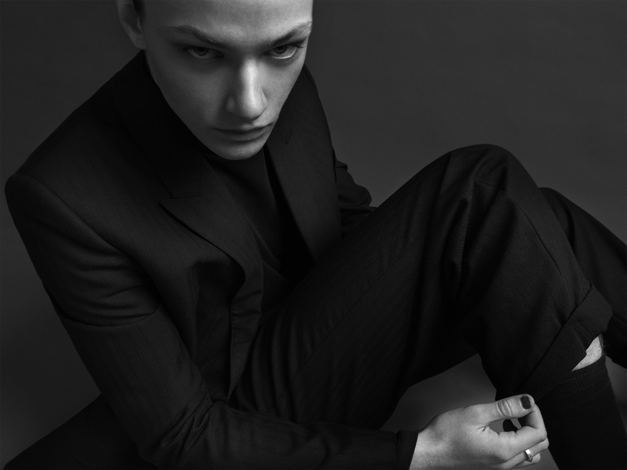Eliot @imgmodels @eliotgryn in Celine Homme ©Buonomo & Cometti