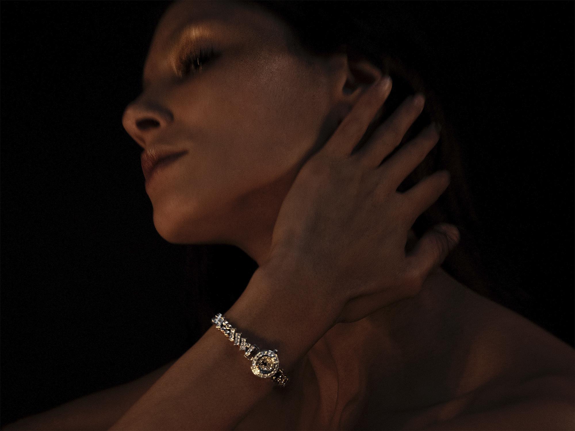 La montre Faubourg Polka, Hermès