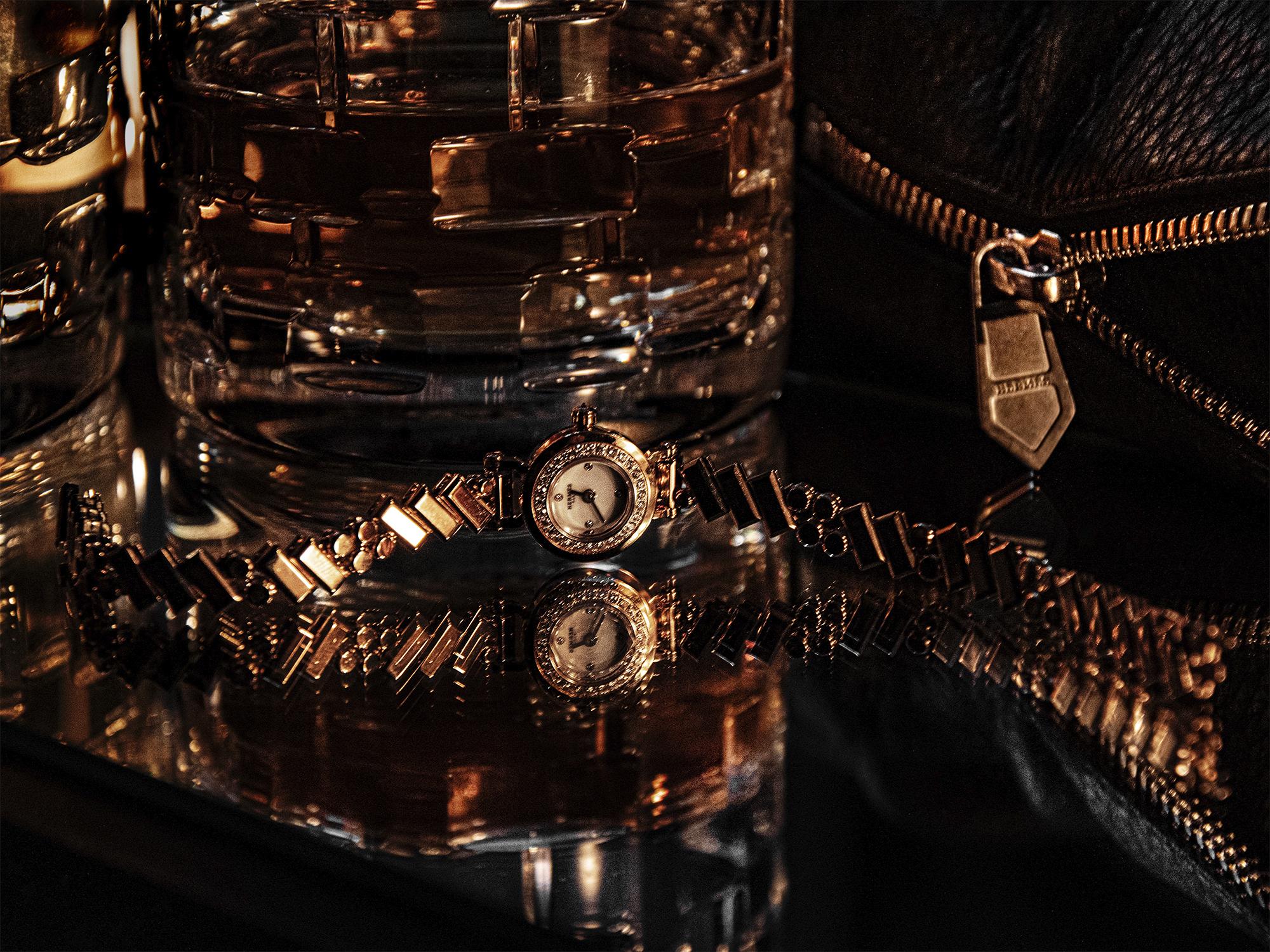 La montre Faubourg Polka Hermès
